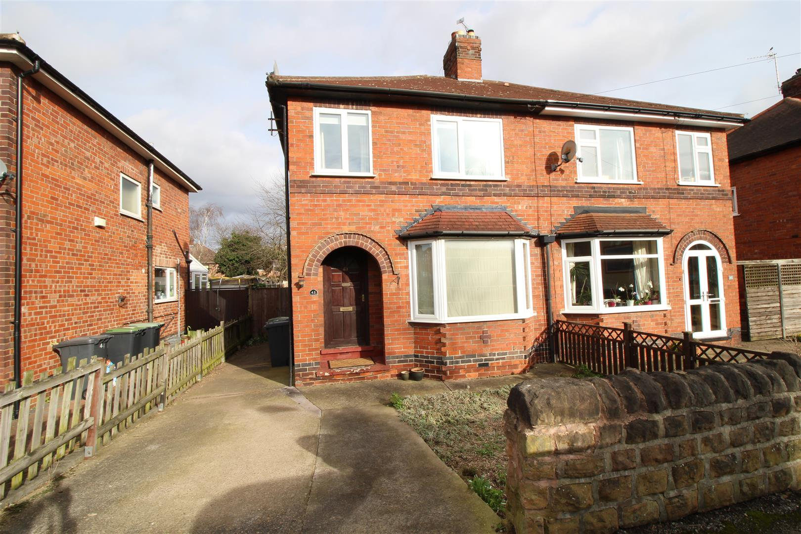 3 Bedrooms Semi Detached House for sale in Maple Avenue, Beeston Rylands